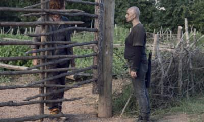 Norman Reedus as Daryl Dixon, Samantha Morton as Alpha - The Walking Dead _ Season 9, Episode 11 - Photo Credit: Gene Page/AMC